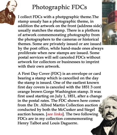 Photographic FDCs