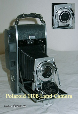 Polaroid 110B Pathfinder Camera