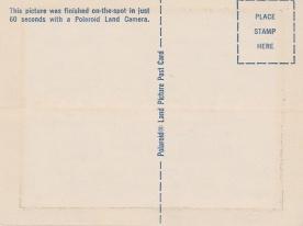 Polaroid Postcarders - Obverse