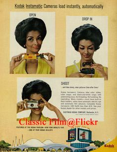 1964 Ad, Kodak Instamatic Camera, with Pretty Woman 03