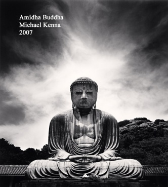 Amidha Buddha - Michael Kenna - 2007 - WP