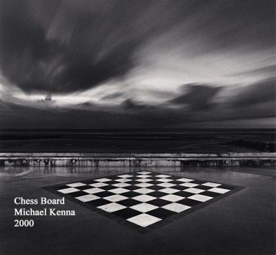 Chess Board - Michael Kenna - 2000 - WP