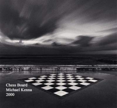 Chess Board - Michael Kenna - 2000 - WP