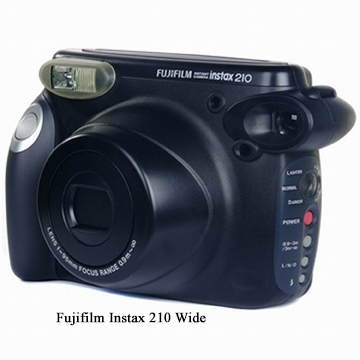 Fuji Instax 210 Wide -Black - Final
