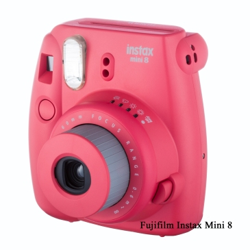 Fuji Instax Mini 8 - Rasberry - Final