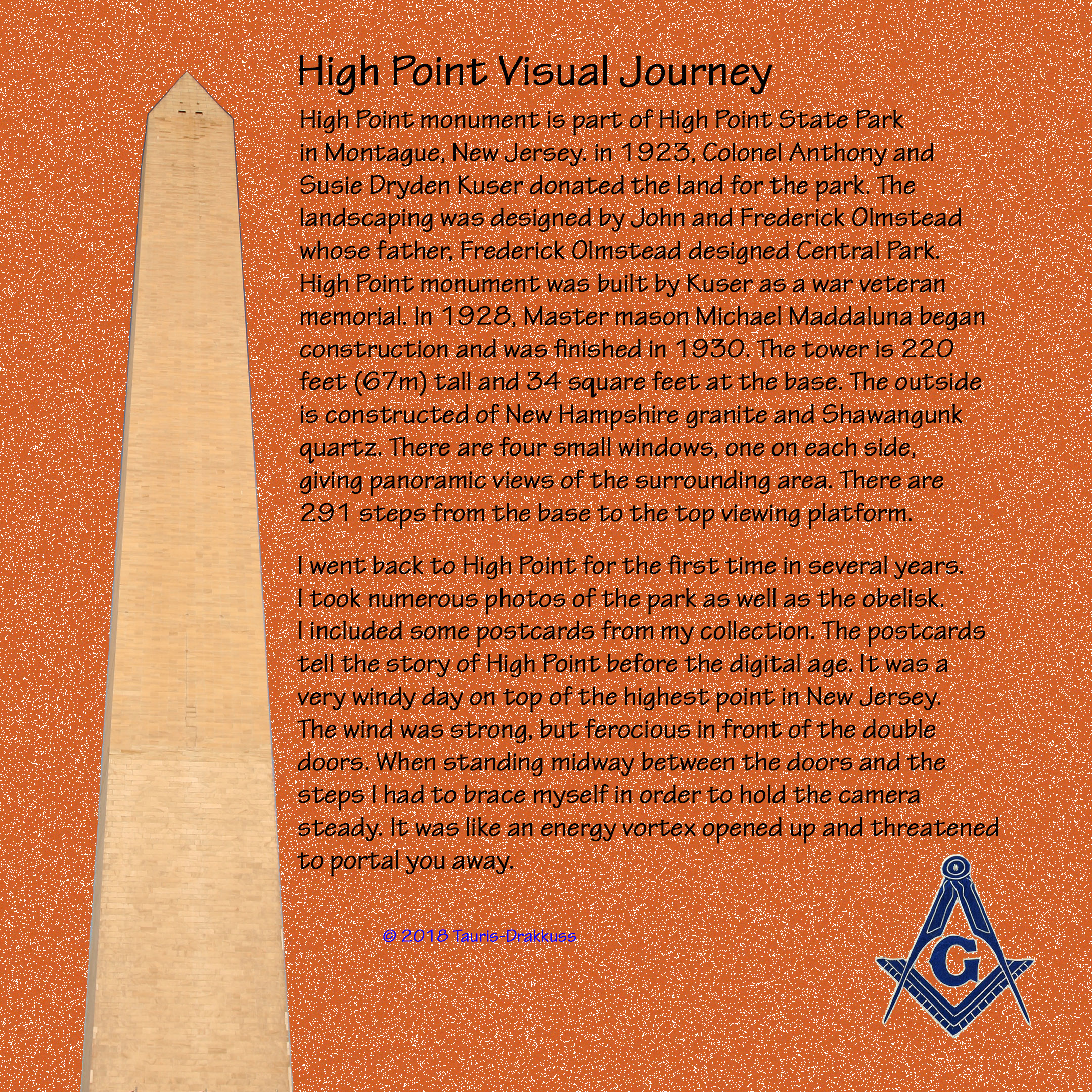 High Point Visual Journey Masonic