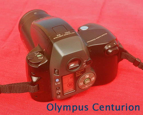 Olympus Centurion back