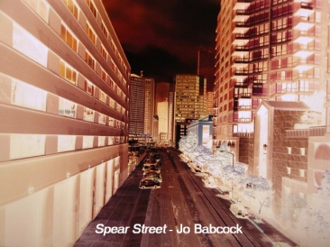 Spear Street, San Francisco, Jo Babcock, 2012